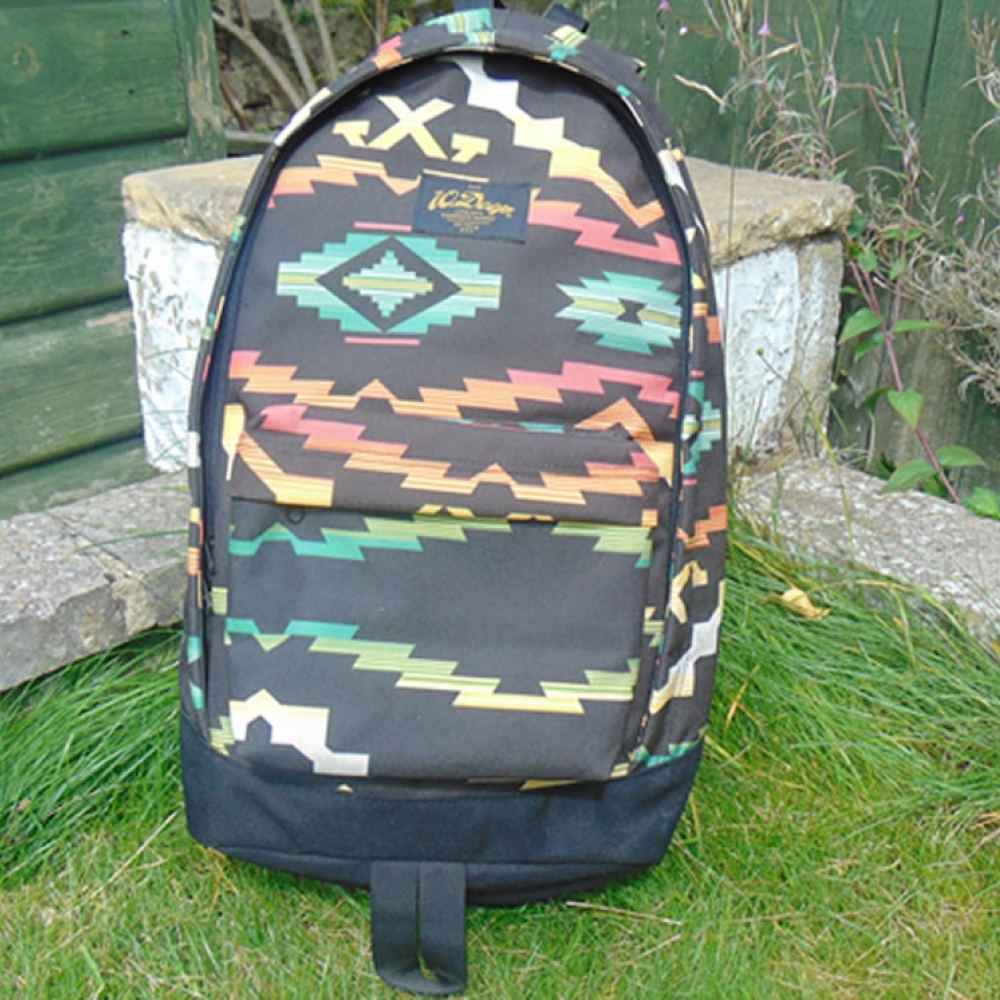 10 Deep Scout Back Pack patterned