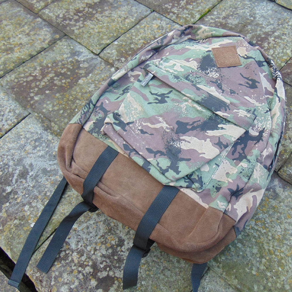 The Hundreds Jon bag rucksack camo