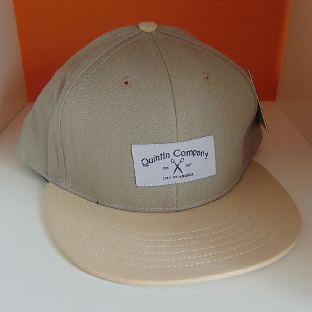 Quintin Snapback City of Angels 6 Panel Grey