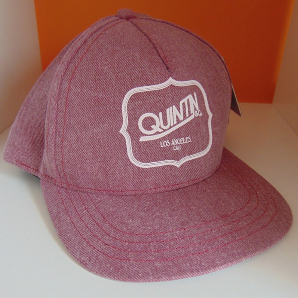 Quintin Snapback Faded Burgundy
