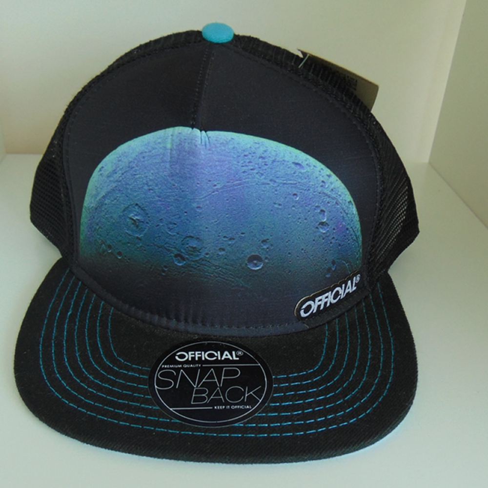 Official Snapback Black and Blue
