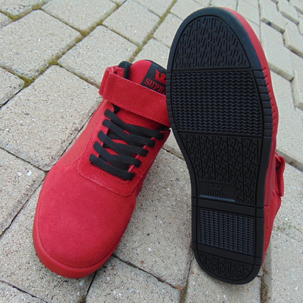89576324e56c Supra Ellington Strap Red-Black mens trainers
