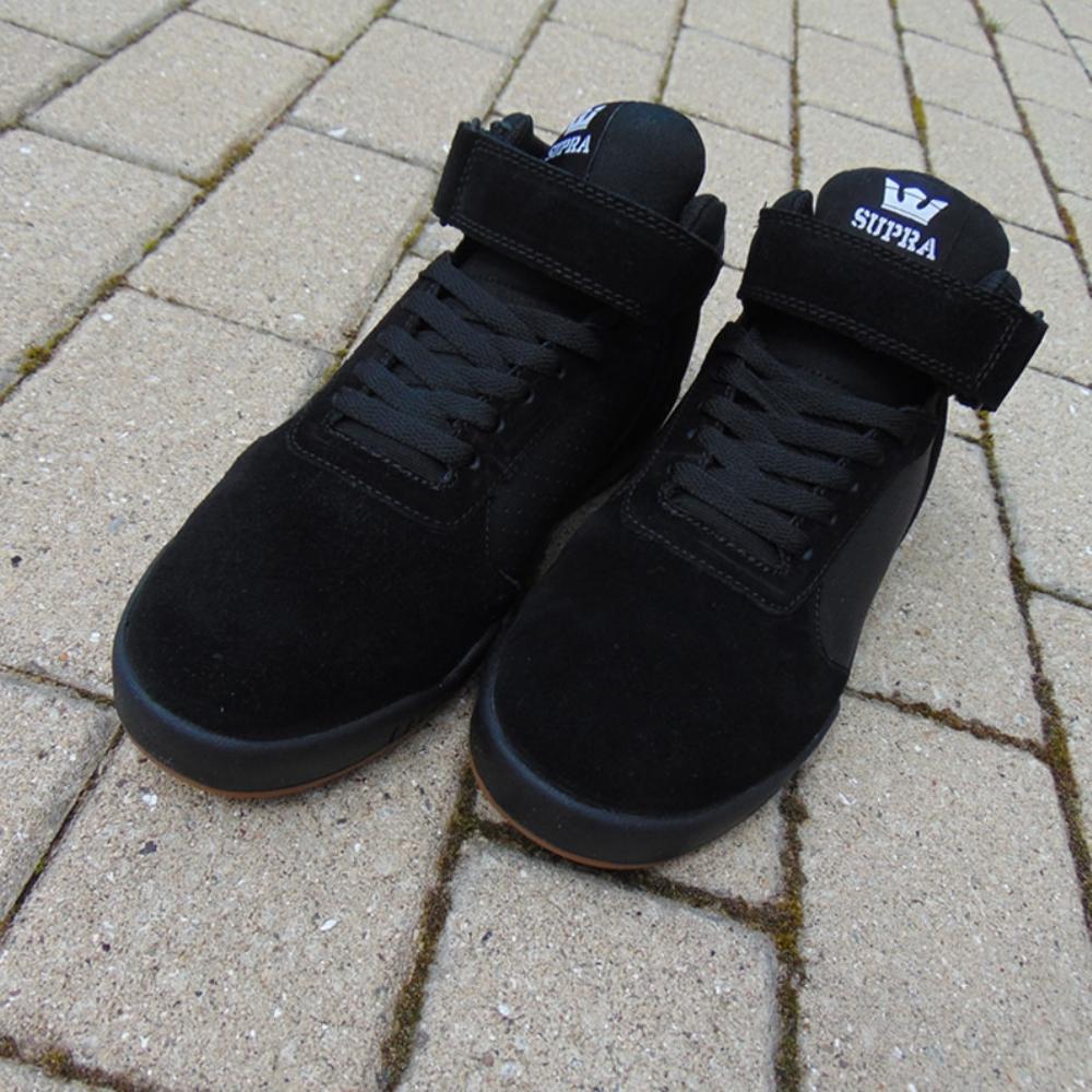 Chaussures Supra Ellington Strap Black Gum sCP0hR9