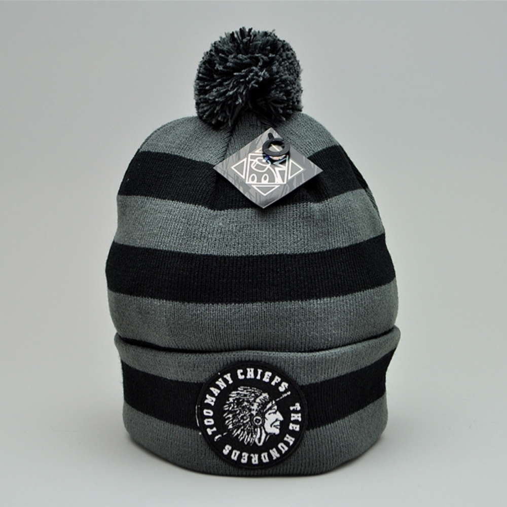 The Hundreds Maul Beanie Black
