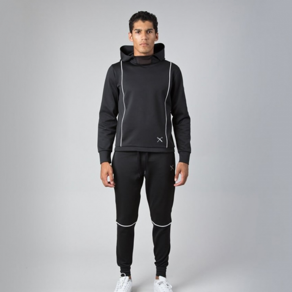King Apparel Duo Tracksuit - Black