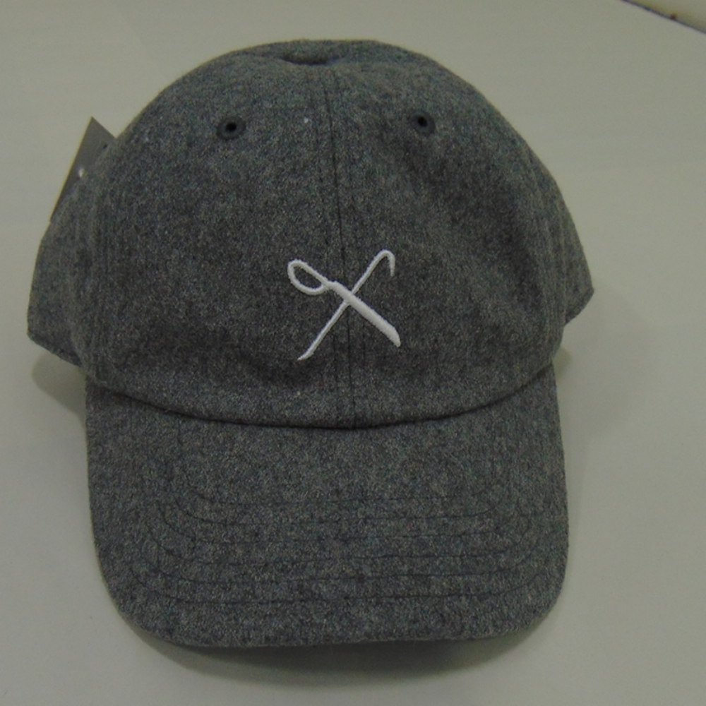King Apparel Hard Graft Curved Peak cap - grey flannel