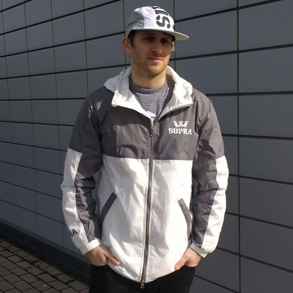 Supra Dash Jacket Grey/White
