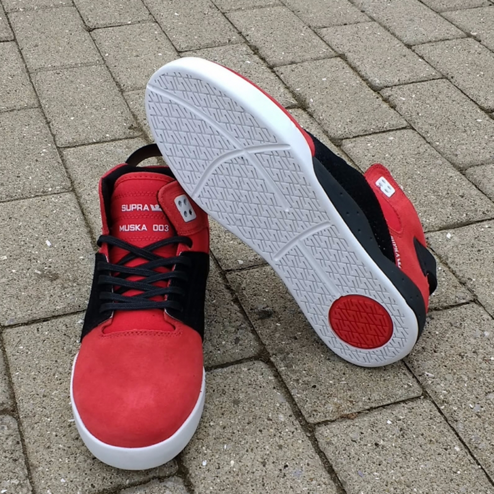 Supra Skytop III Red-White