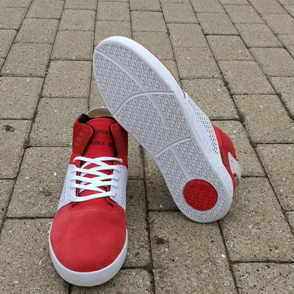 Supra Skytop III Red-White Speckle