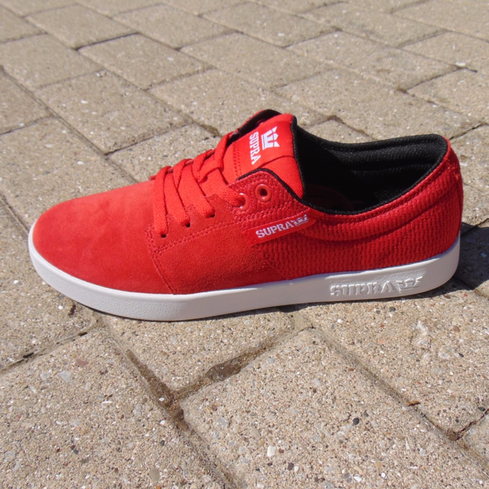 Supra Stacks II Red-White mens trainers 3efac2f7a