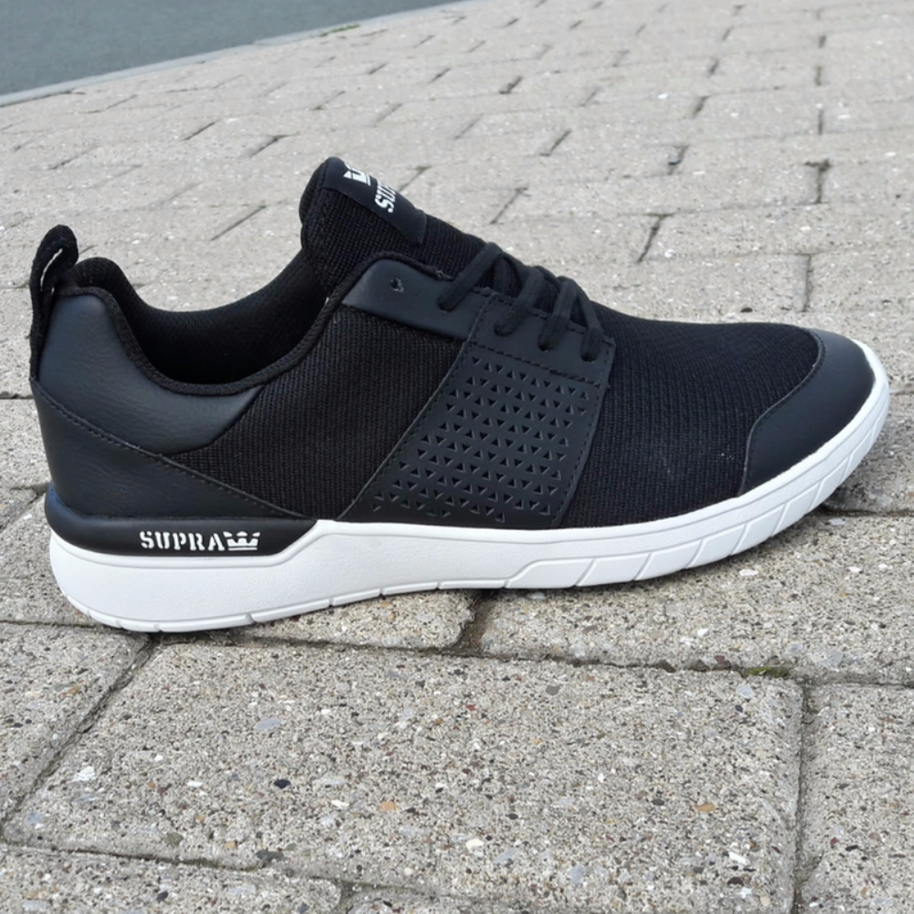 Supra Scissor Black-White mens trainers