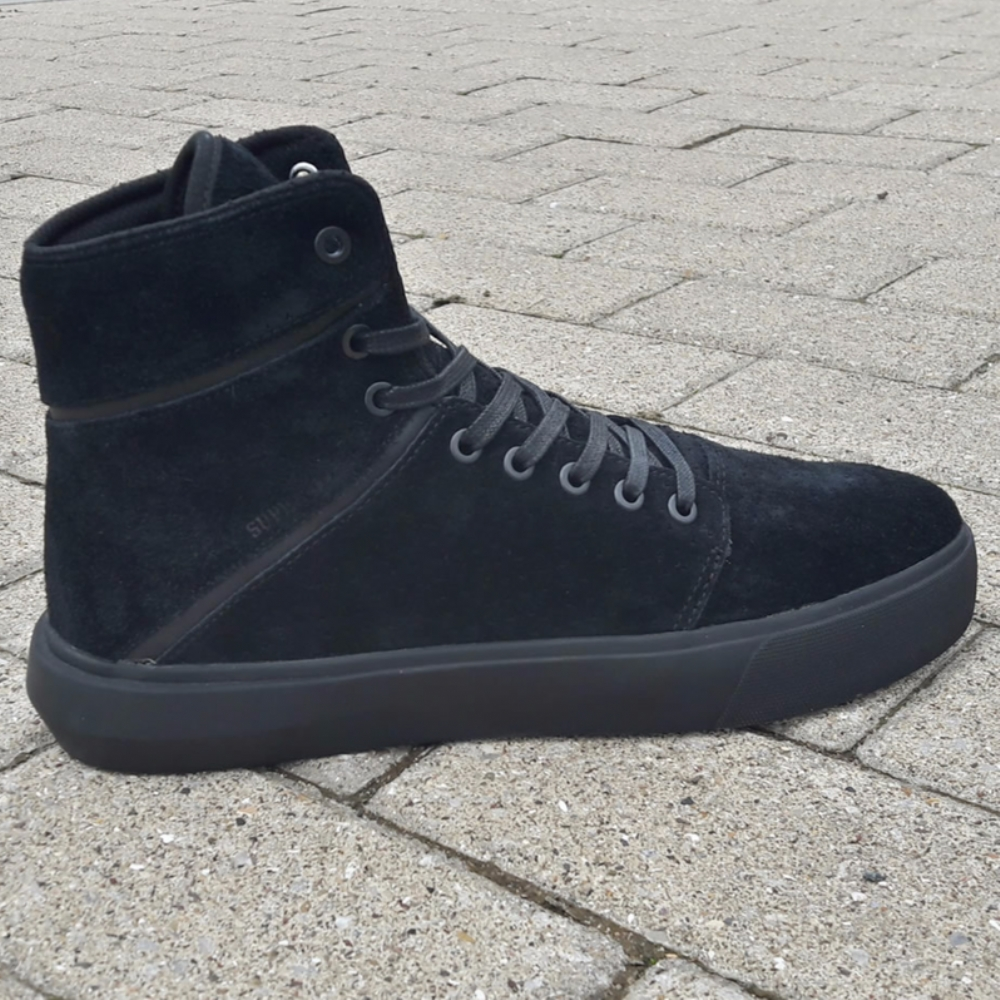 Supra Camino Black-Black mens trainers