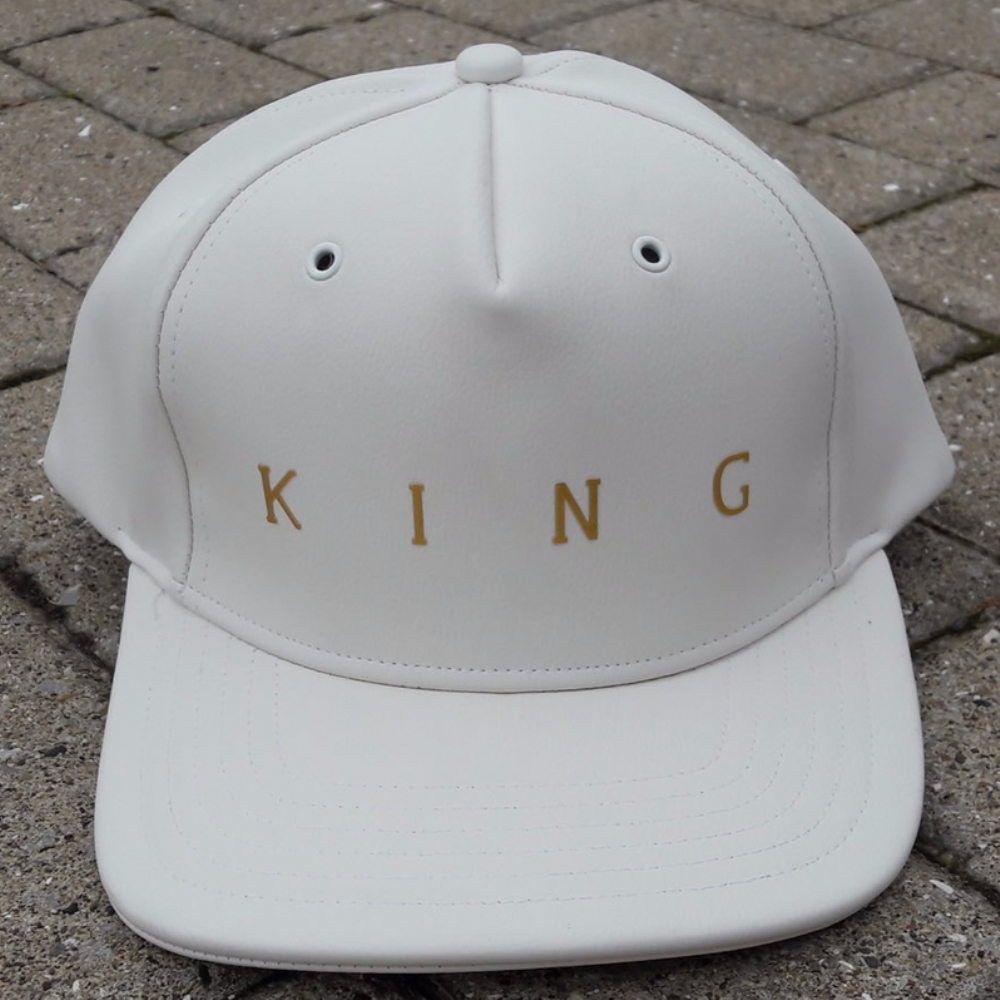 King Apparel Pitchford Snapback White