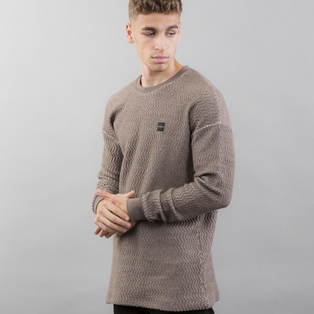 King Apparel Poplar Drop Shoulder Jumper Storm