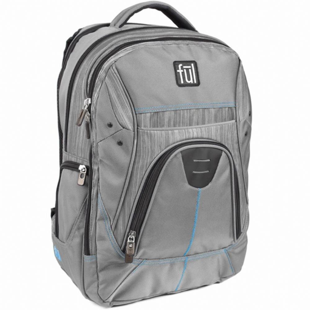 FUL Gung Ho Laptop Backpack Grey