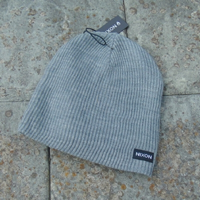 Nixon Compass Beanie Heather