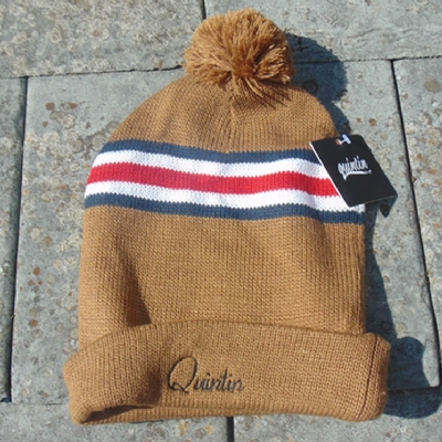 Quintin Beanie Bobble brown