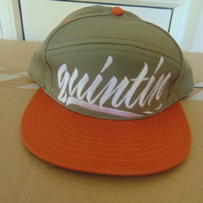 Quintin Co. Large Hit Snapback - Pumpkin