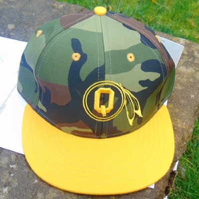 Quintin Co. Braves Snapback - yellow camo