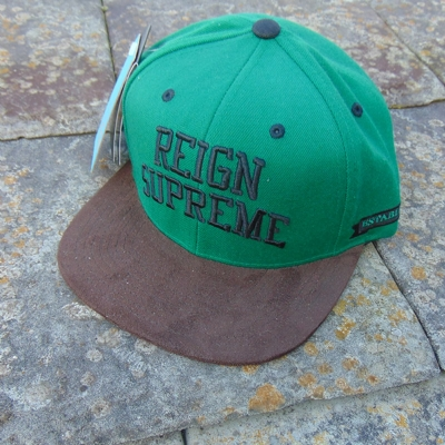 King Apparel Starter Snapback Green