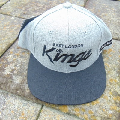 King Apparel E.L.K Starter Snapback Greyheath