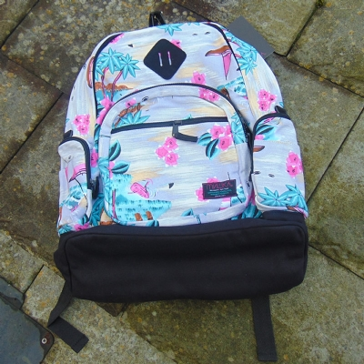 Mishka Maui Wowie White backpack