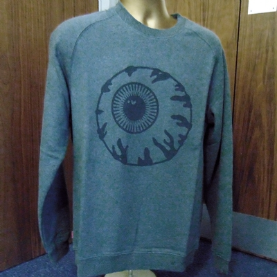 Mishka Vintage Keep Watch Crewsweat Grey