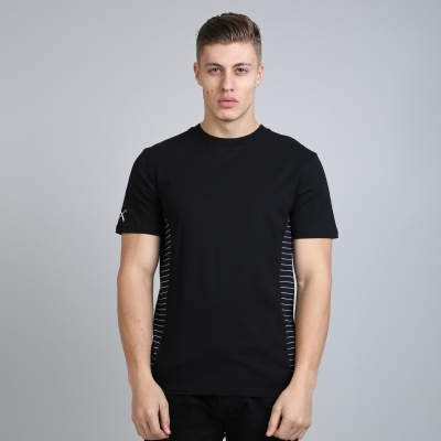 King Apparel Hardgraft Panel Tee Longline Black