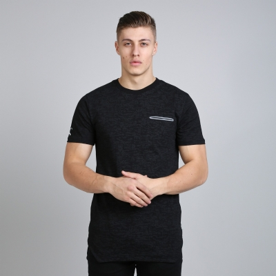 King Apparel Matrix Pocket Tee Shirt Midline Black