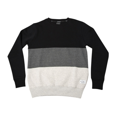 King Apparel Krest White Label Sweatshirt Black/Grey/Beige