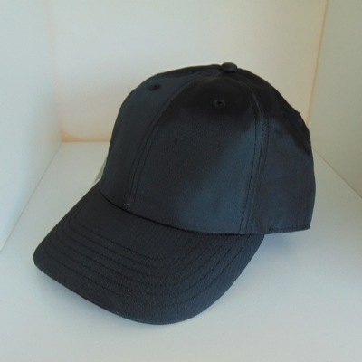 King Apparel Curved Peak Hardgraft Cap Black