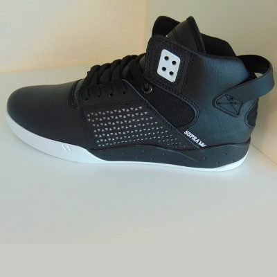 Supra Skytop III Black White Hi Top