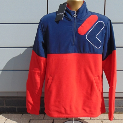 Fila Black Line Scala Fleece Blue and Red