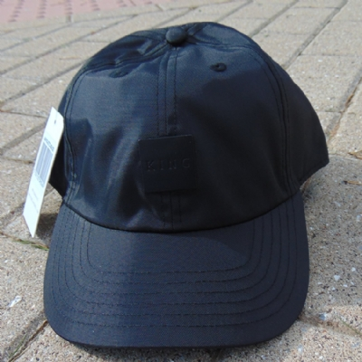 King Apparel Sterling Tech Curved Peak Hat Black