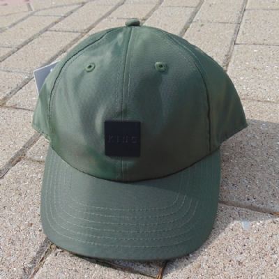 King Apparel Sterling Tech Curved Peak Hat Olive