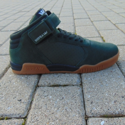 Supra Ellington Strap Dark Olive/ Black-Gum  Men's Trainers