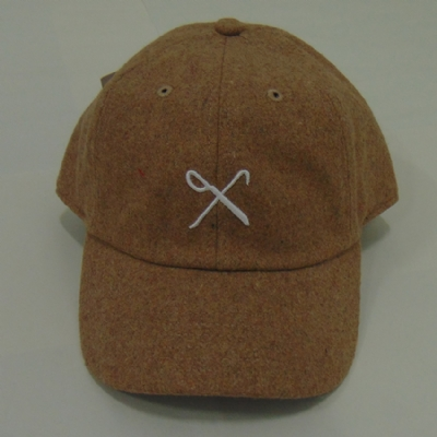 King Apparel Hard Graft Curved Peak Hat - Tan Flannel