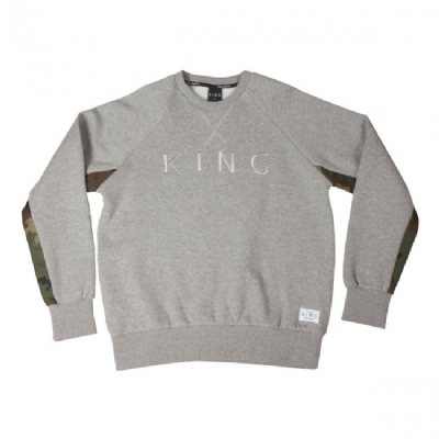 King Apparel Regal Sweatshirt Regal Grey