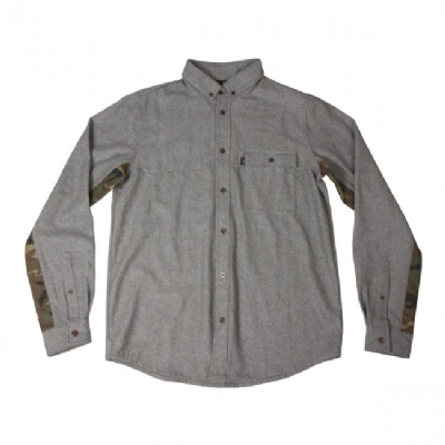 King Apparel Regal Shirt Charcoal Grey