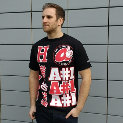 Hall of Fame AN1 Tee Shirt Black