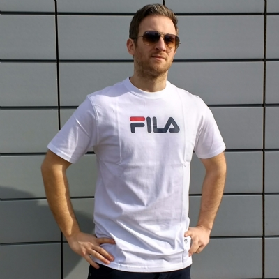 FILA Black Line Elbi Essential Tee Shirt White