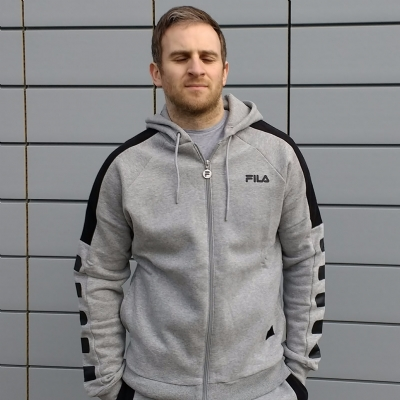 FILA Black Line Rico Hooded Top