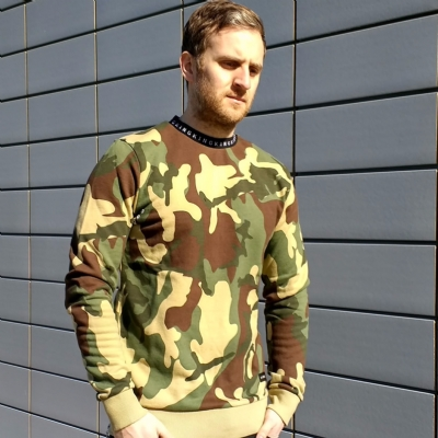 King Apparel Lab CrewSweat Camo