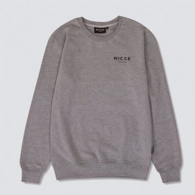 Nicce Original Sweatshirt Grey