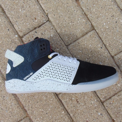 Supra Skytop III Black-White Speckle Trainers