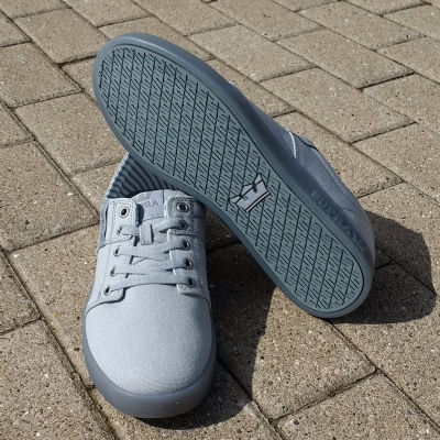 Supra Stacks II Light Grey-Ice