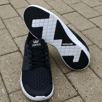 Supra Scissor Black- White Speckle