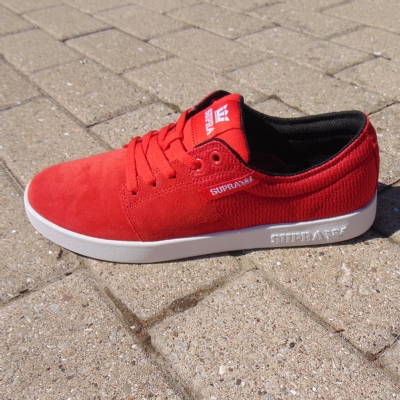 Supra Stacks II Red-White mens trainers