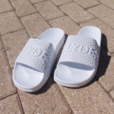 Slydes Cali Basic Logo Slides White