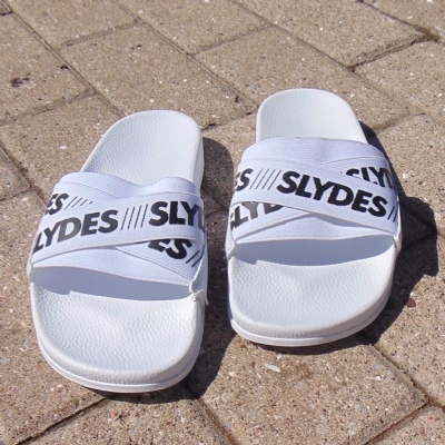 Slydes Malibu Cross Elastic White